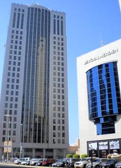 Al Reem Tower, Abu Dhabi, U.A.E.,