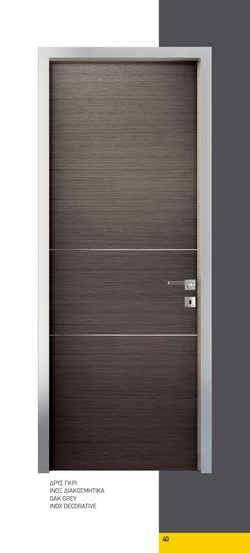 Linear. Oak Grey Inox Decorative