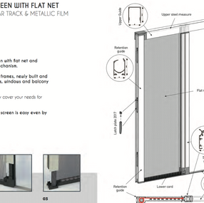 Door Section Titanium Screen
