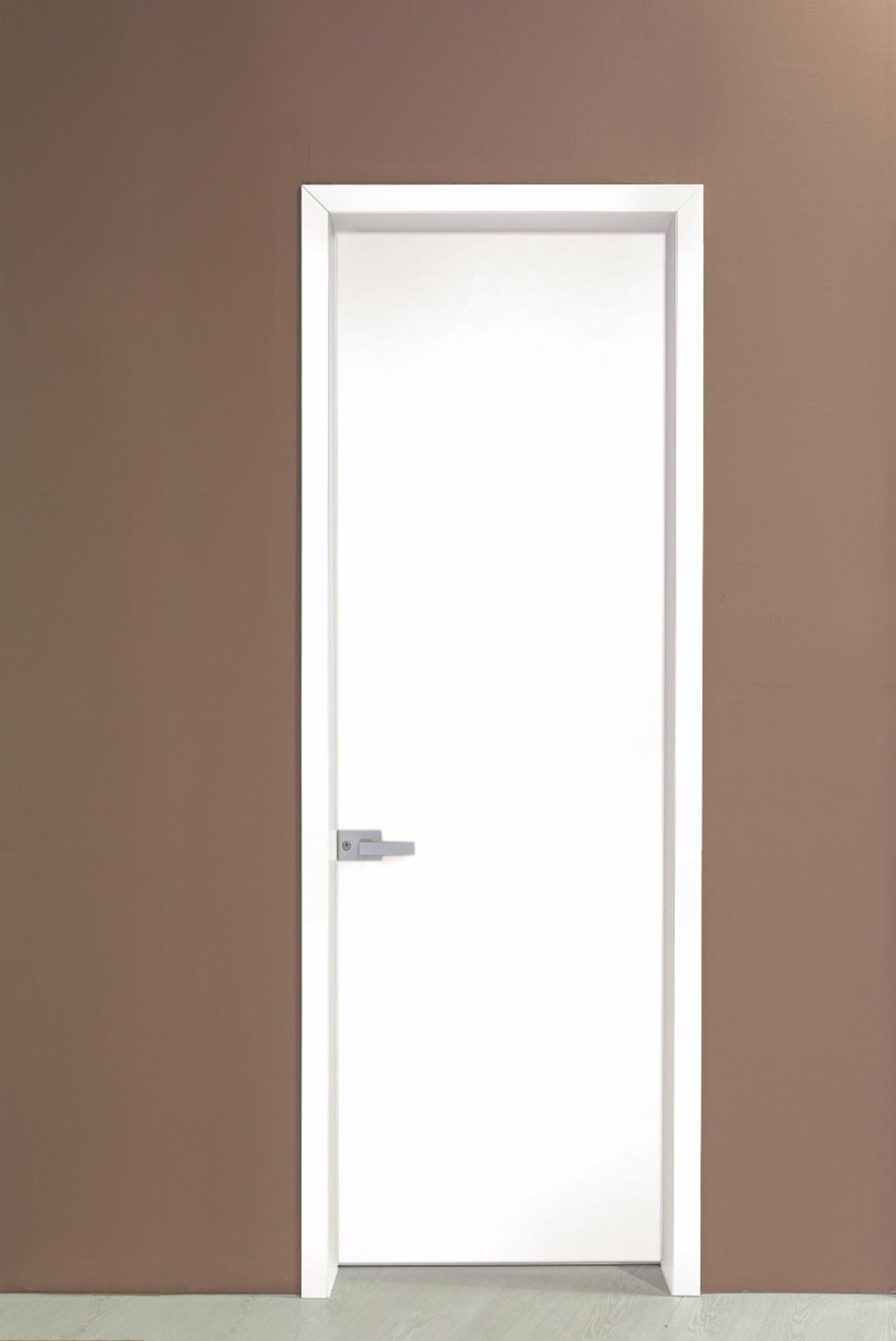 INTERNAL DOOR MINIMAL WITH ALUMINUM FRAME & LACQUER,