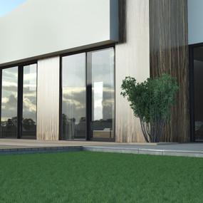 12500 High End Residential Slding System