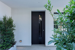 Safety Door Covered With Ceramic Material & Glass