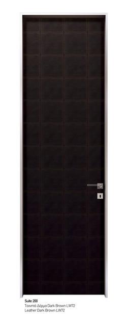 Suite 200 Leather Dark Brown LW72
