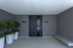Pivot Door Covered With Ceramic Material & Glass