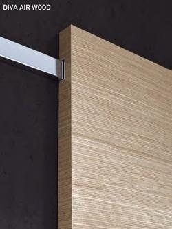 Slide mechanism. Diva Air Wood