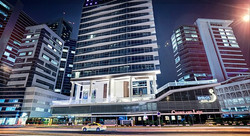 Balushi Tower (Byblos Hotel) in Tecom, Dubai, U.A.E.