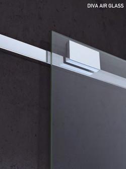 Slide mechanism. Diva Air Glass.