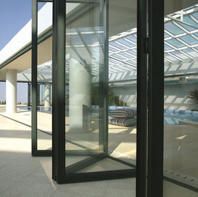 M9800 Alumil Bifolding Doors