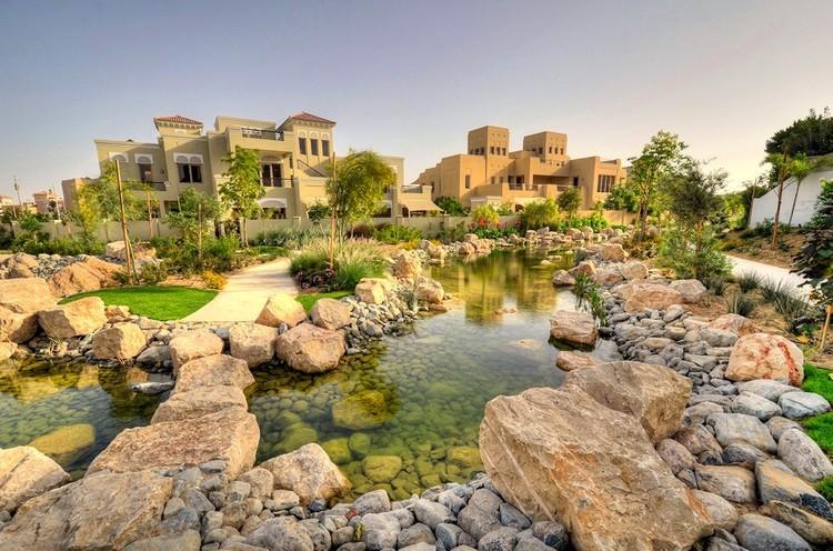 Al Barari Villas in Dubai, U.A.E.,