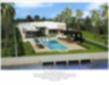 Tropical Intracoastal Modern Estate