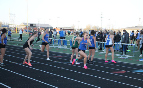 5.16.21 -- Back on at it: The girls track season