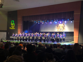 Marching Pioneers impress during Friday Night Live