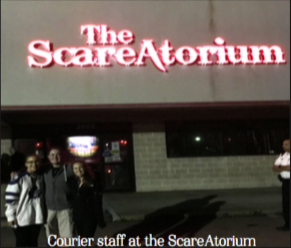 'Literally the scariest thing in my entire life'