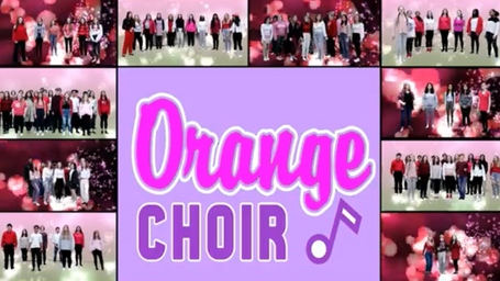 Photo Gallery: A valentine from the Orange choirs
