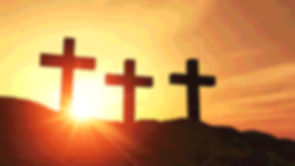 sunset-over-three-religious-crosses-hill