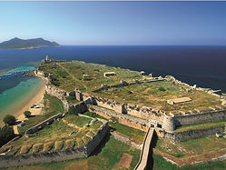 Methoni castle Messinia