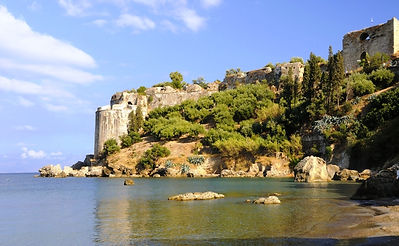 Koroni castle Messinia