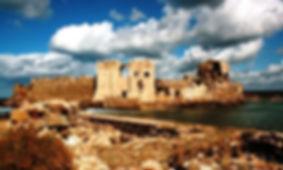 Methoni castle Messinia