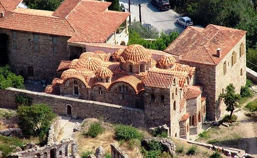 Mystras old city