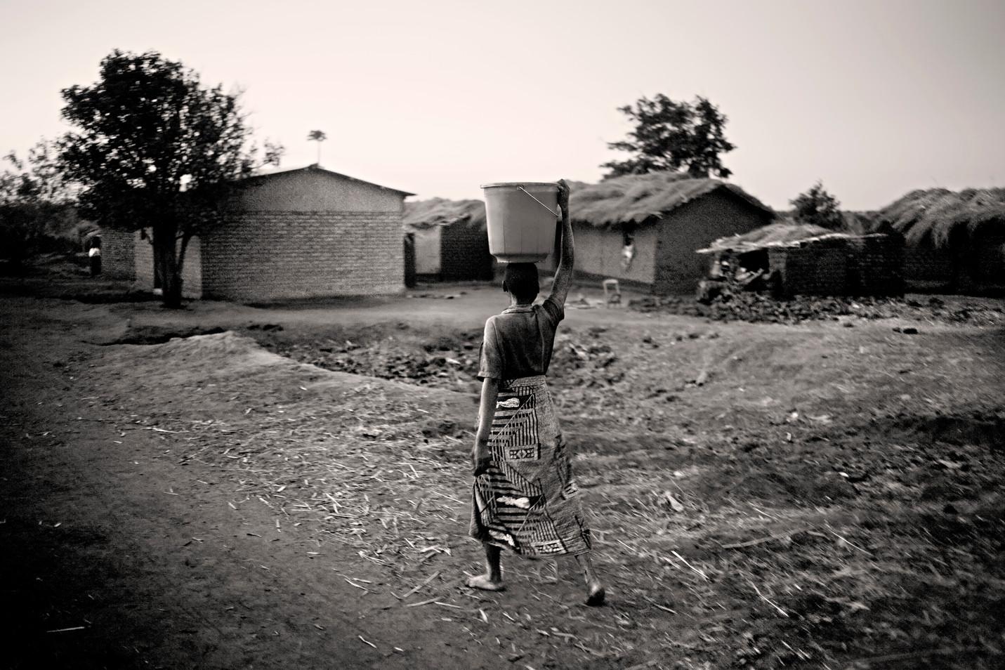 Infancia y agua en Malawi