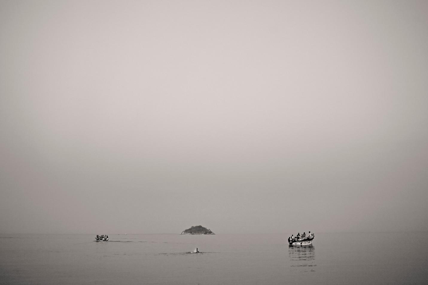 Pescadores del lago Nyassa