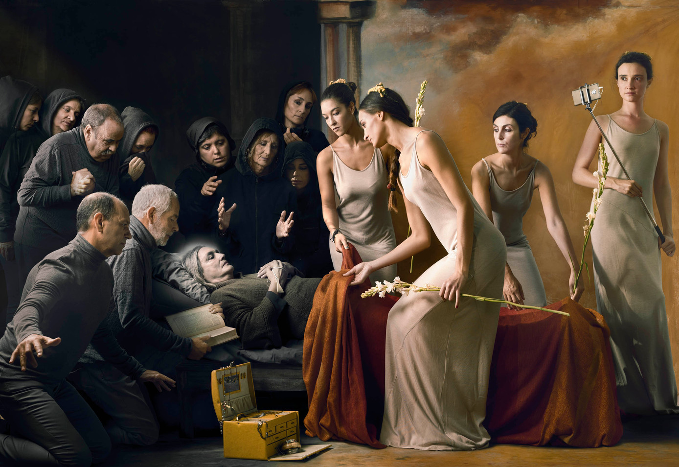 La muerte de la belleza física