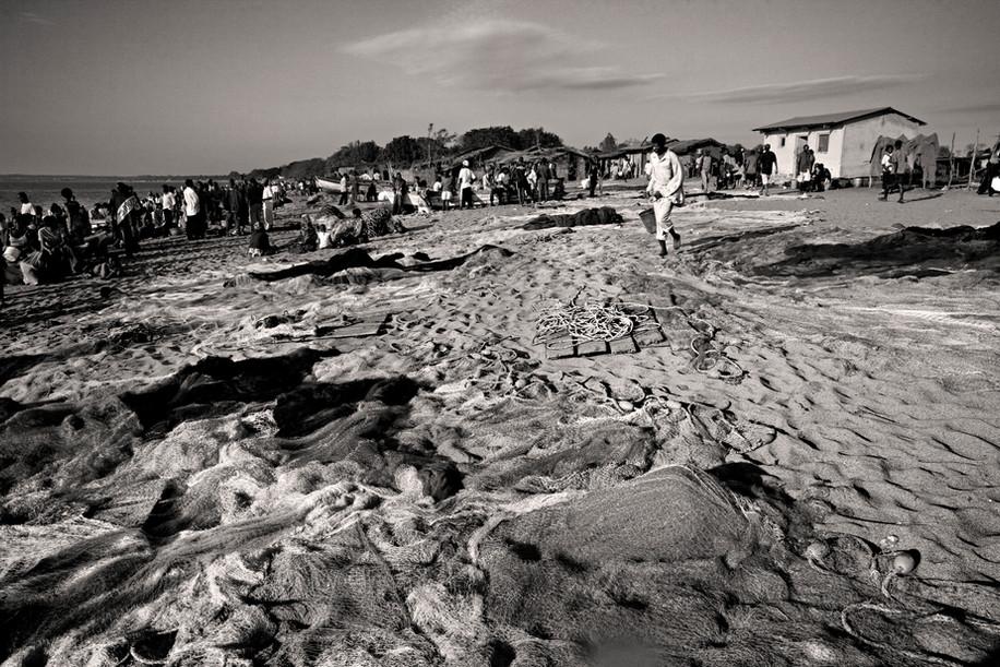 Redes en la arena