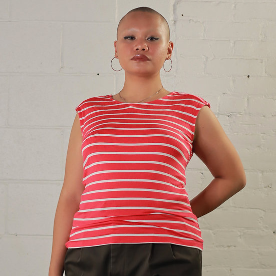 Stripe Calkin Klein Blouse