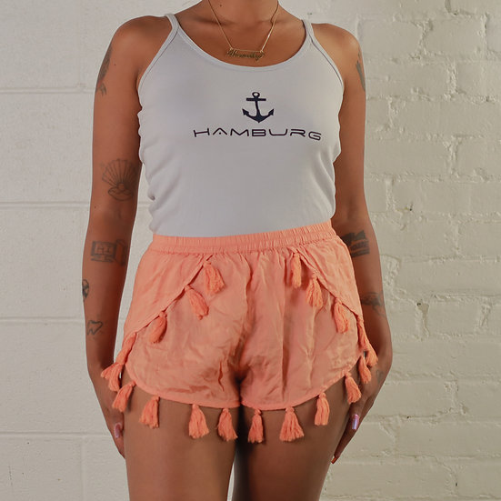 Short Shorts with tassels