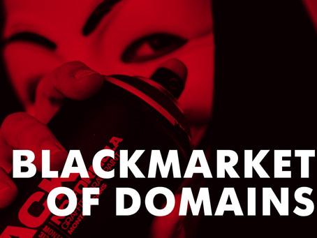 Black market of domains