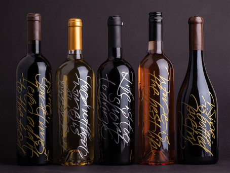 Calligraphy enhances packaging