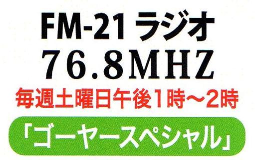 ゴ-ヤスペシャル ラジオ放送