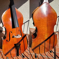 Core Symphony Fully-Carved Double Bass 3/4