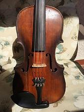 HOPF violin, stamped HOPE, $1,200