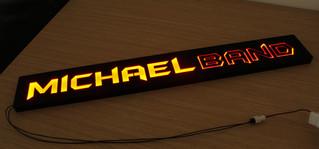 Corte a laser de caixa de luz