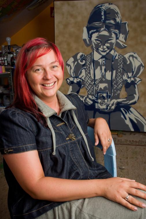 Columbus Artist Portrait