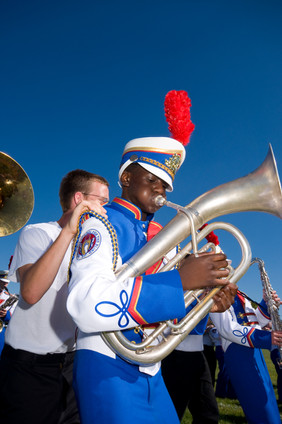 Columbus School for Blind Marching Band