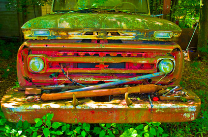 Old Truck - Johnstown, OH