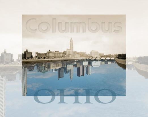 Columbus, Ohio - Then and Now