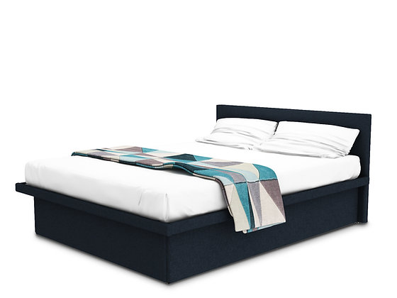 Coffer Bed Blue