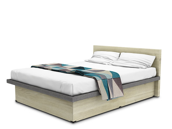 Coffer Bed Acacia Touch