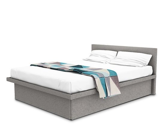Coffer Bed Gray