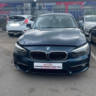 BMW 1 SERIES 118d carbon cleaned