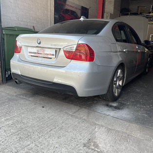 BMW 320d carbon cleaned