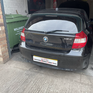 BMW 1 series carbon cleaned