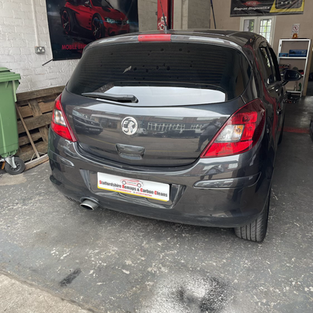 Vauxhall corsa d in for spark plug change