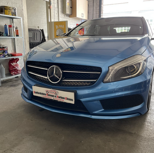 MERCEDES A200 TUNING BOX INSTALLED
