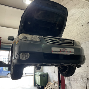 SUBARU OUTBACK DPF REMOVED AND CLEANED