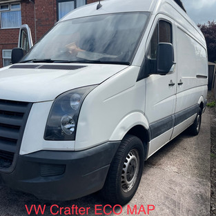 VW CRAFTER ECO MAP