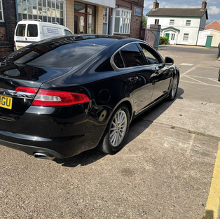 Jaguar xf DPF clean